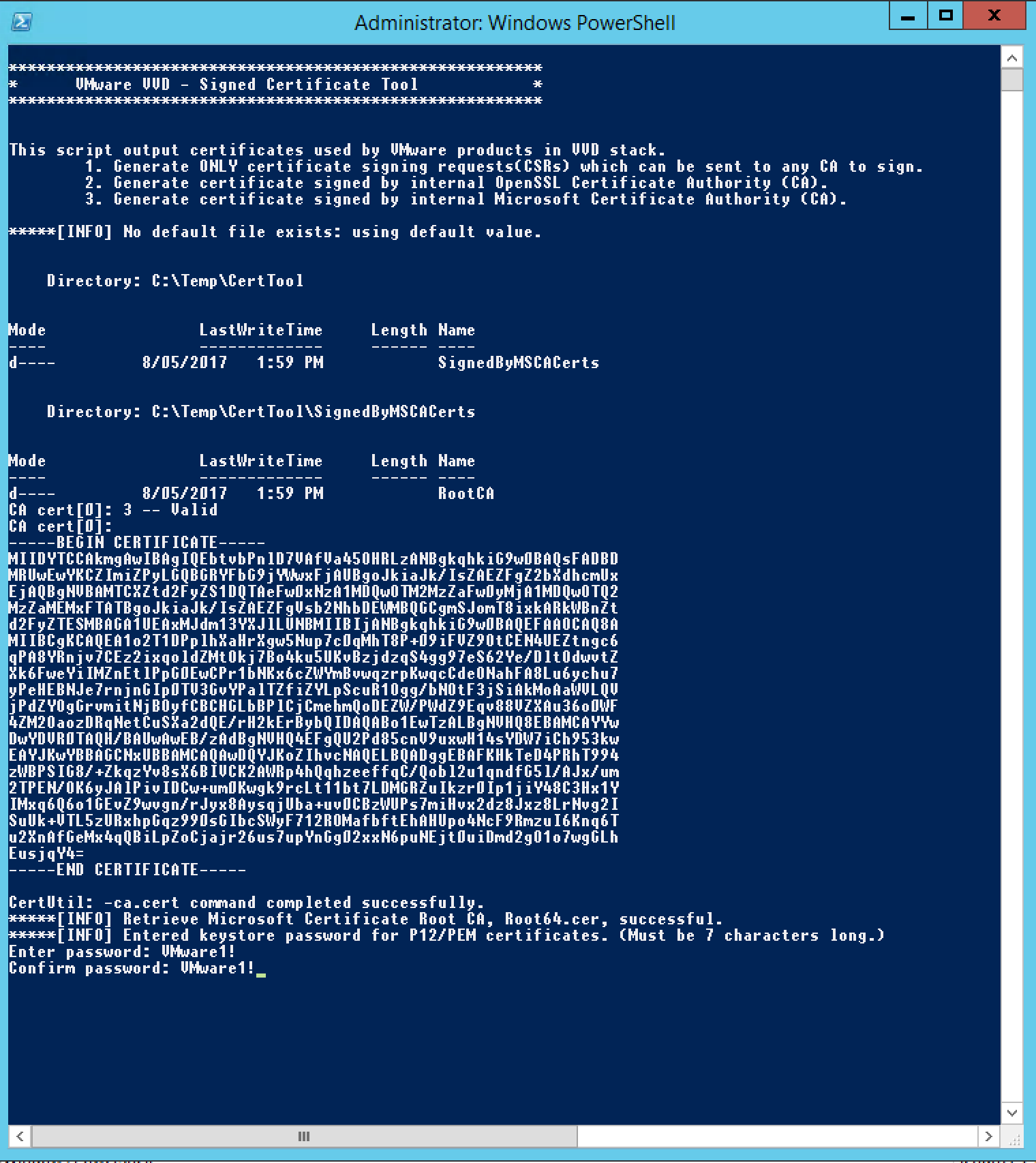 SSL Certificate Tool (CertGenVVD)   Lab-Rat