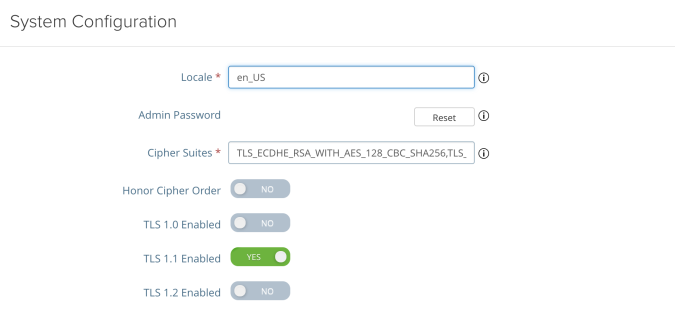 Disable TLS 1 2 on VMware Unified Access Gateway (UAG) | Lab-Rat